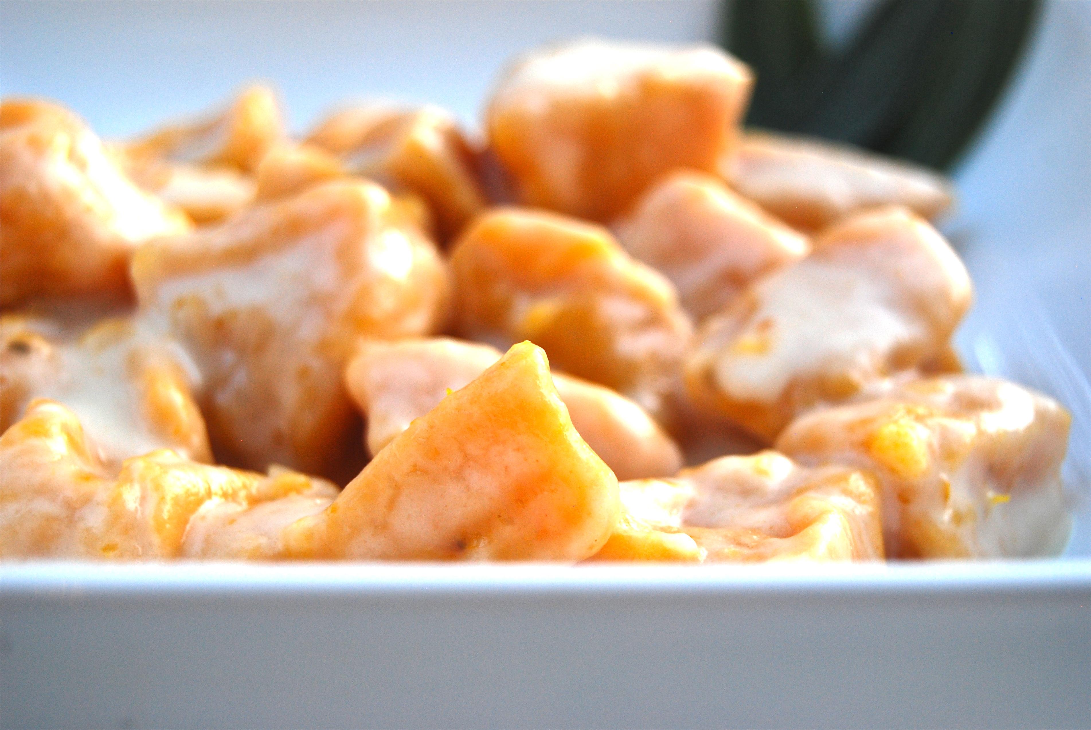 Butternut squash gnocchi with taleggio cheese sauce   Due Spaghetti