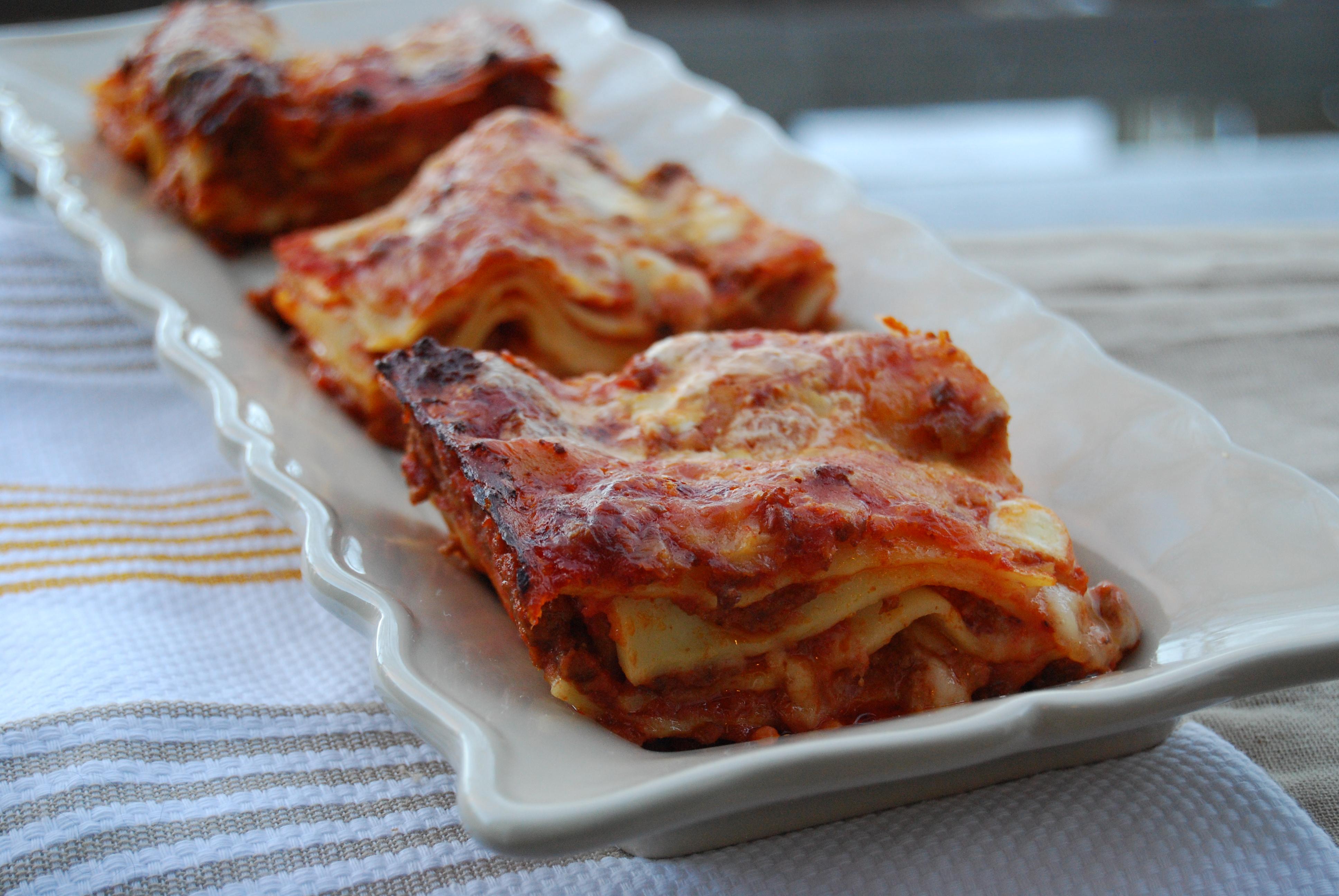 Lasagne alla bolognese | Due Spaghetti