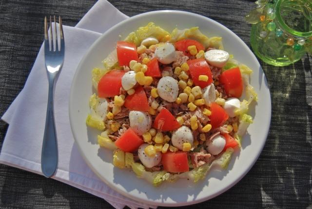 oInsalata mozzarella, tonno e pomodoroDSC_0074
