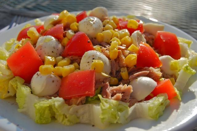 Insalata mozzarella, tonno e pomodoroDSC_0077